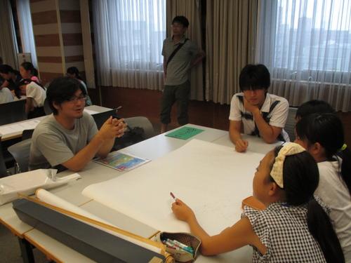 子どもがつくるまち「ミニふくおか2015」の子ども実行委員会に参加して2015.7.19