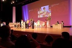 華やかな福岡アジア文化賞授賞式が開催されました。