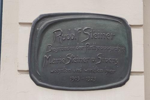 ふ印ボスのドイツまち歩き便り Rudolf Steiner ルドルフ・シュタイナーは1903〜1923年、ベルリンに住んでいた!