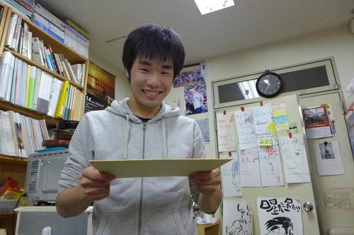 九州大学芸術情報設計学科ふ印ラボ4年生、最後の定例ゼミ、最後の月宮殿祭、堂々開催っ!