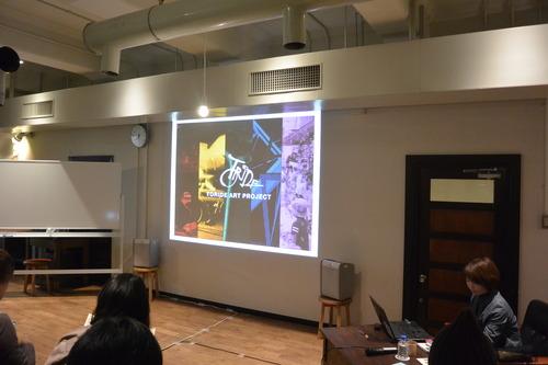 2015.3.04 KIITO デザイン・クリエイティブセンター神戸で行われましたトークシリーズ コミュニティ×アート プラクティスに参加してきました。