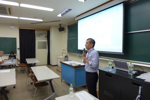 2014年7月29日(火)夜、九州大学芸術工学部公開講座「魅力的なアジアの創造都市〜シンガポール〜」にあの川崎賢一先生が出演してくださいました!