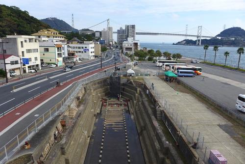 下関市唐戸の旧四建ドック(旧内務省下関土木出張所下関機械工場乾船渠)が公開されました!
