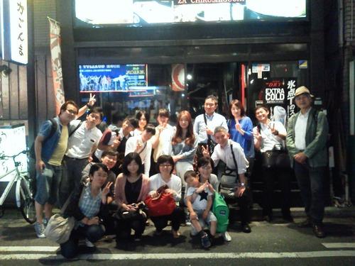 ふ印ラボ同人津高守氏の福岡お帰りなさい歓迎会で邂逅、新たなスギダラ北部九州メンバーは戸田都生男先生!