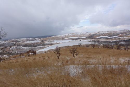 2021年2月18日の大雪の日に眺めた遠景