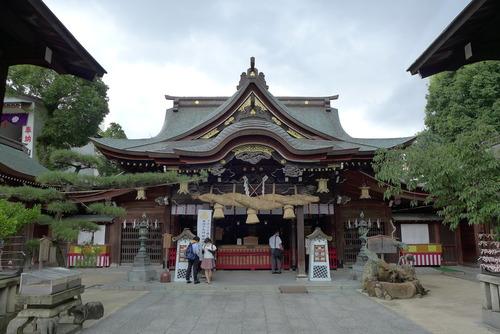 博多祇園山笠祭礼をコロナ惨禍の中で来年に延長した櫛田神社参詣を果たしました!