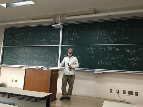 2015年6月1日学部「芸術文化環境論」丸尾焼5代目・金澤一弘先生の特別講義が行われました!