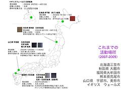 文化経済学会 2010年度研究大会(神戸大会) 発表者の研究内容