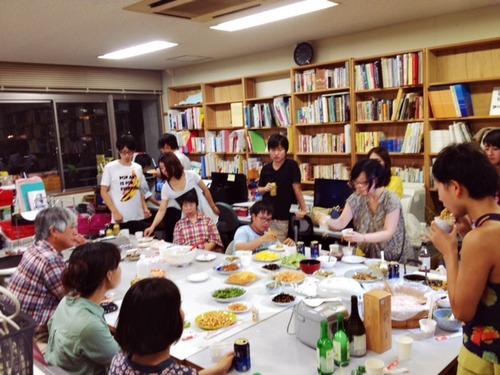 2013.8.20 月宮殿祭×イエスルのFarewell party!
