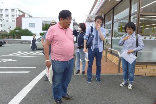 20190616、2016年熊本地震で大きな被災を受けた新町・古町を踏査!