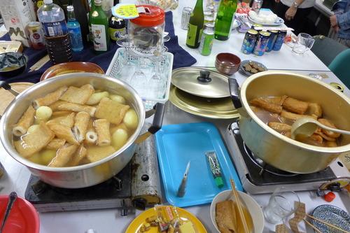 新参中国人留学生諸君が大活躍!八女の食材でこしらえたおでんと地酒で秋の夜長の【月宮殿祭】が開催されました!!
