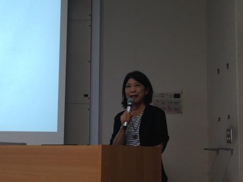 7月18日(土)学部「芸術文化環境論」 秋葉美知子氏による2番目の特別講義が行われました! テーマは「ソーシャリーエンゲイジドアートについて」