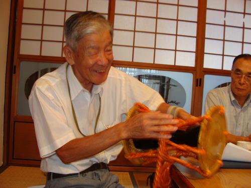 菊池の市井の聖人、国重要無形民俗文化財菊池御松囃子御能保存会会長の西岡史郎さんが御逝されました・・・・・