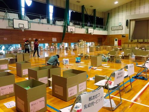 2016.4.20-21 熊本地震 支援物資の仕分け・積み込みのボランティアに参加しました