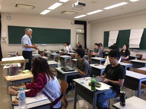 2019年10月4日(金)4・5時限開講、九州大学芸術工学部芸術情報設計学科演習「フィールドワーク演習」第1回を行いました!