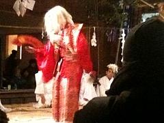 2010.12.16.宮崎県西米良の銀鏡神楽(しろみかぐら)をたっぷり鑑賞しました