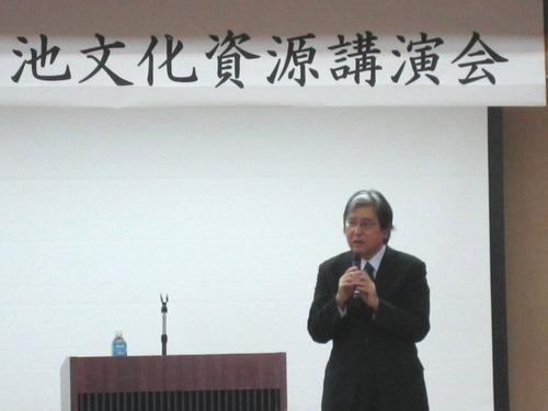 第5回 菊池文化資源講演会 「まちを語る想像力」 重里徹也氏