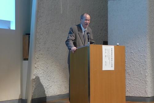 倉敷市立美術館で開催、産業考古学会重鎮の清水憲一先生による快復名講演に感動しました!