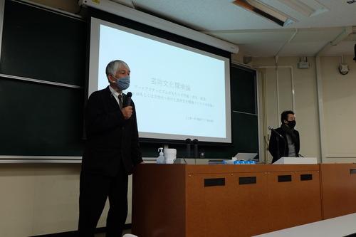 2020年12月20日(日)九州大学芸術工学部「芸術文化環境論」もいよいよ最終回!非常勤講師 江上賢一郎先生によるアート・アクティビズム集中講義とフィールドワークへ!