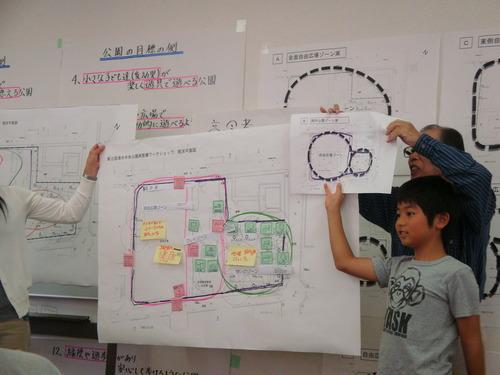 清水中央公園再整備ワークショップ第2回目2012.10.13