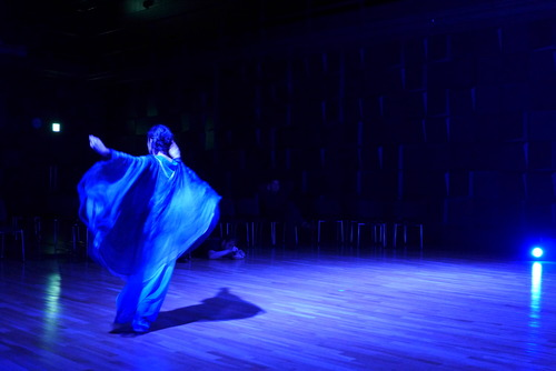 2020年2月14日(金)藤原馨オイリュトミー公演前夜、直前に行われた最終調整進む!