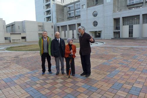 戦後日本デザイン界レジェンドの幅泰治さん、宇賀洋子先生、九州大学芸術工学部公開講座で「デザインが始まる頃」を論ず!