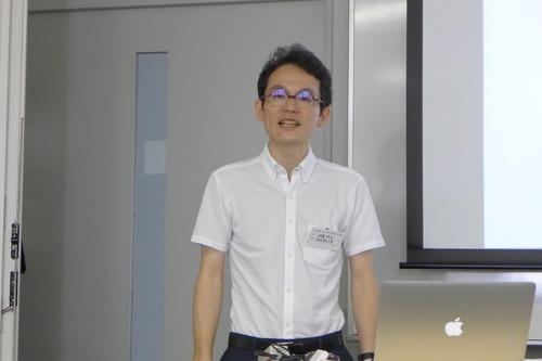 佐藤忠文先生(熊本県立大学)も堂々発表!