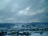 往路雪風景