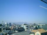 浅間山と榛名山