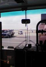 羽田空港バス車内
