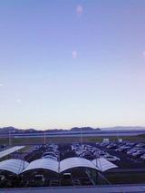 徳島空港の青空