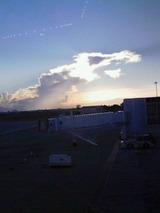 徳島空港の青空3
