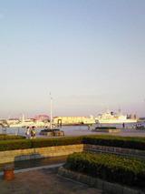 メリケンパークからの海