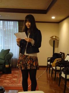 2012感謝祭 中島さん