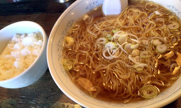 湯麺大+ランチ無料ライス@屋台屋