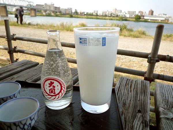 日本酒とカルピスサワー@たぬきや