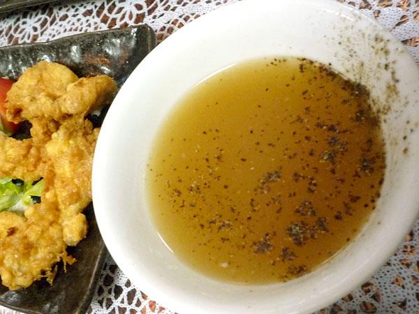 丸鶴肉天ぷらつけ汁