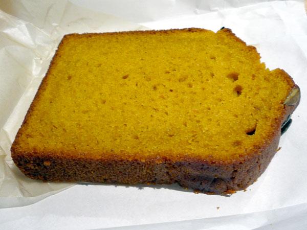 ブルーボトルパンプキンパウンドケーキ
