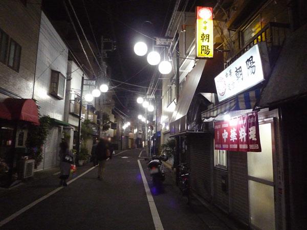朝陽松山通り