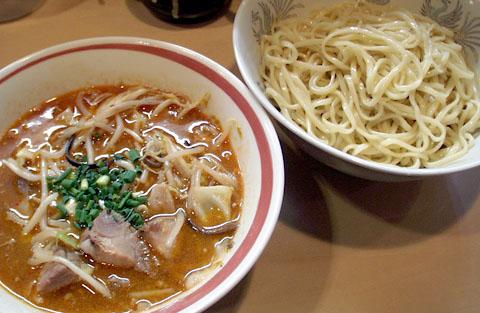 夜のつけ麺@みの麺多
