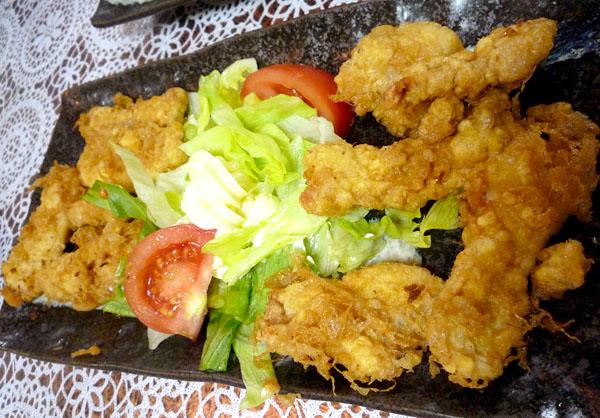 丸鶴肉天ぷら