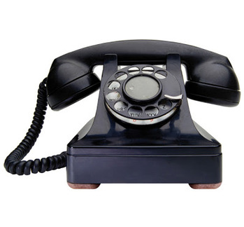 固定電話にかかってくることなくったからねぇ