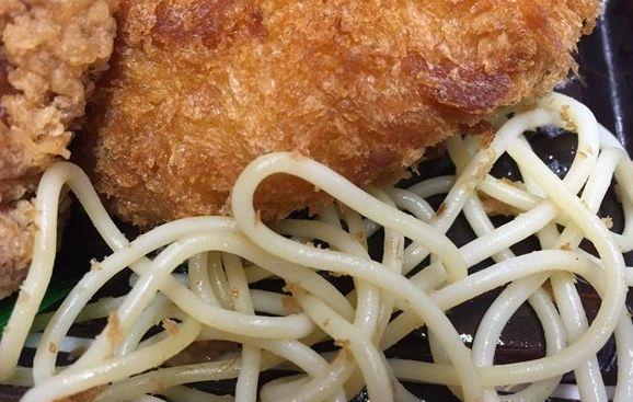 唐揚げ弁当の下に敷いてあるスパゲティってチュルチュルしてて美味いよね  [816970601]->画像>9枚