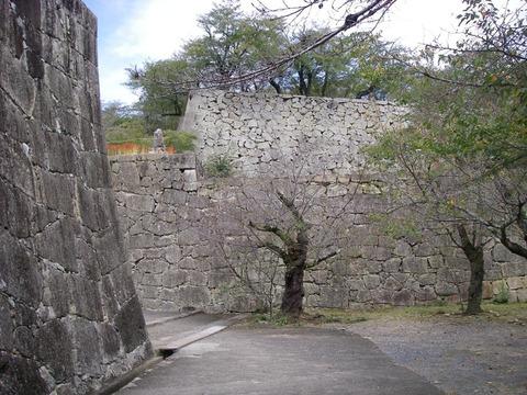 津山城に行きました