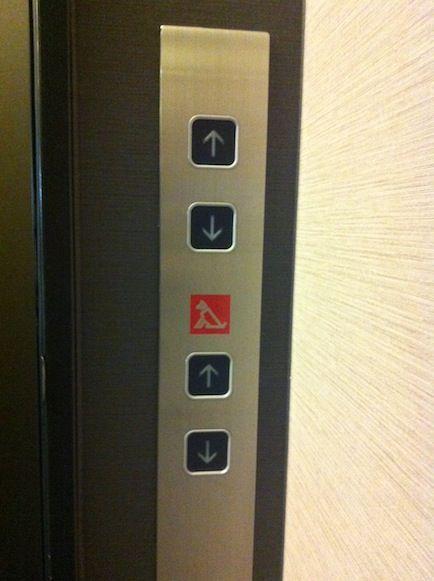ボタン エレベーター ペット