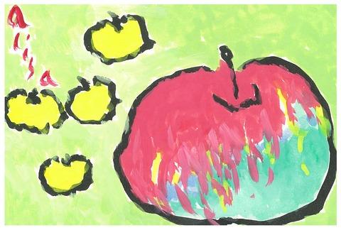 立派なりんご
