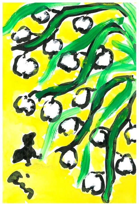 白いお花2