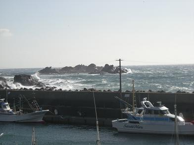 2007 12 31 大荒れの太海港&聡丸.JPG