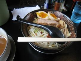 濃魚醤油つけ麺@和田屋 2
