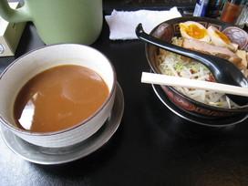 濃魚醤油つけ麺@和田屋